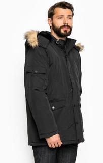 Черная куртка с семью карманами Blend