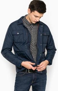 Синяя куртка с накладными карманами Jack & Jones