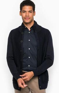 Трикотажный кардиган с карманами Liu Jo Uomo