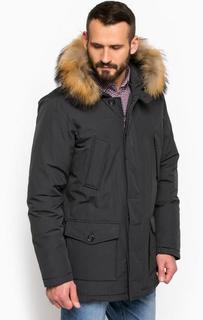 Куртка с меховой отделкой на капюшоне Gas