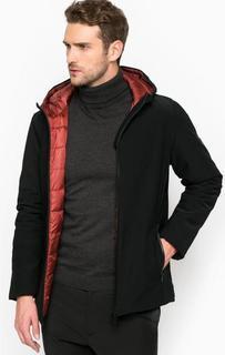 Черная куртка на молнии с капюшоном Liu Jo Uomo