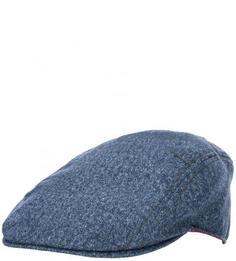 Однотонная синяя кепка из полиэстера Goorin Bros.