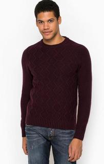 Шерстяной свитер с круглым вырезом Liu Jo Uomo