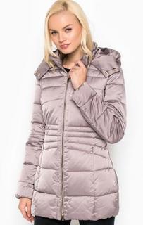 b75640d9ef02 Удлиненная куртка из полиэстера с капюшоном Trussardi Jeans