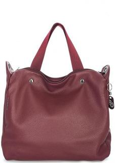 Кожаная сумка со съемным плечевым ремнем Mandarina Duck