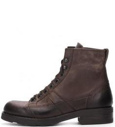 Демисезонные ботинки из натуральной кожи O.X.S.