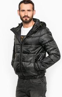 Серая куртка с капюшоном Replay