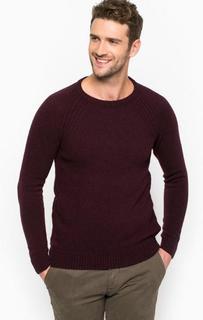 Фиолетовый шерстяной свитер Liu Jo Uomo