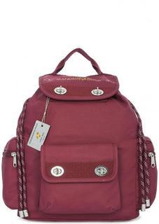Вместительный рюкзак из хлопка и полиуретана Mandarina Duck