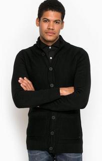 Черный трикотажный кардиган Liu Jo Uomo