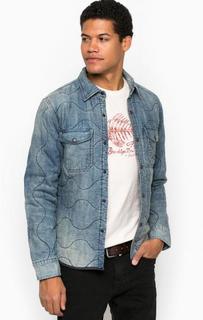Утепленая стеганая джинсовая куртка D&S Ralph Lauren