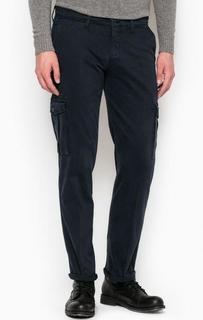 Синие хлопковые брюки Liu Jo Uomo