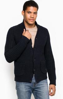 Кардиган из шерсти с карманами Marc Opolo