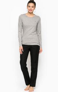 Хлопковый комплект из футболки и брюк Tommy Hilfiger