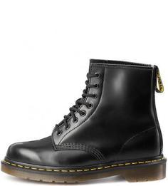 Кожаные ботинки с дополнительными шнурками Dr. Martens
