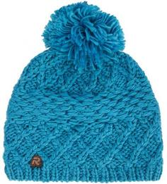 Синяя вязаная шапка R.Mountain