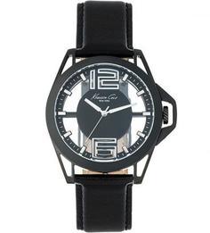 Часы с кожаным браслетом Kenneth Cole