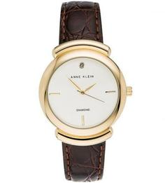 Часы с декором из натурального бриллианта Anne Klein