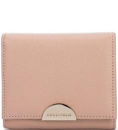 Кожаный кошелек с откидным клапаном Coccinelle