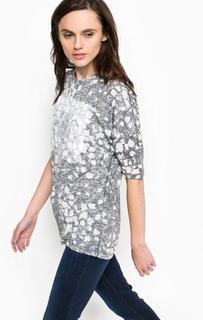Удлиненная футболка с принтом Calvin Klein Jeans