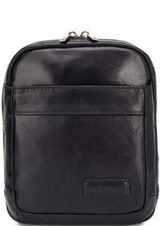 Кожаная сумка через плечо с двумя отделами Sergio Belotti