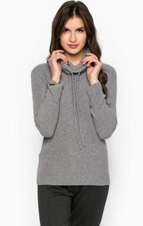 Серый свитер из шерсти Stefanel