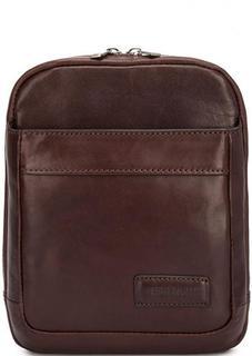 Кожаная сумка через плечо на молнии Sergio Belotti