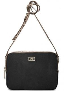 Черная сумка на молнии Cavalli Class