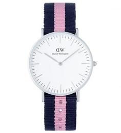 Часы с текстильным браслетом Daniel Wellington