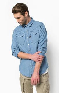 Рубашка из хлопка с нагрудными карманами G Star RAW