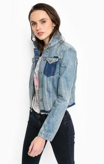 Джинсовая куртка с двумя карманами Calvin Klein Jeans