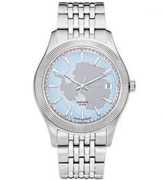 Часы с широким металлическим браслетом Rodania