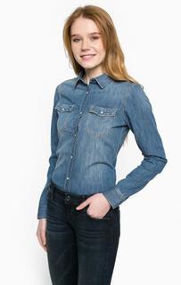 Джинсовая рубашка с двумя карманами Mavi