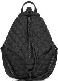 Кожаный черный рюкзак Rebecca Minkoff