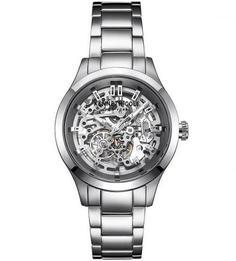 Механические часы с металлическим браслетом Kenneth Cole