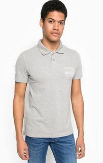 Хлопковая футболка поло с короткими рукавами Tom Tailor Denim