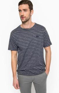 Хлопковая футболка в полоску Lerros