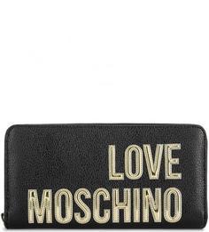 Кошелек из искусственной кожи с логотипом бренда Love Moschino