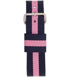 Текстильный ремешок для часов в полоску Daniel Wellington
