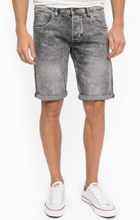 Серые джинсовые шорты Wrangler