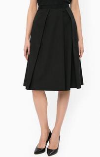 Черная юбка из вискозы More & More