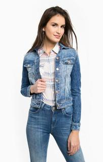 Укороченная джинсовая куртка Lee