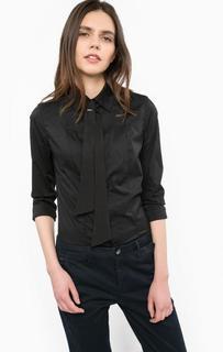 Черная хлопковая рубашка с длинными рукавами G Star RAW