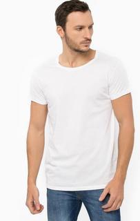 Базовая белая футболка Lee