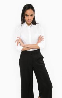 Белая рубашка из хлопка Calvin Klein Jeans