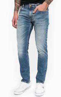 Синие зауженные джинсы Calvin Klein Jeans