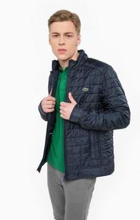 Синяя куртка с карманами Lacoste