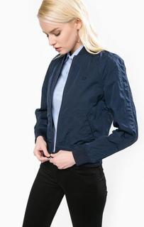 Однотонная куртка на молнии Fred Perry
