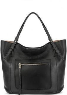 Черная сумка из натуральной кожи Gianni Chiarini