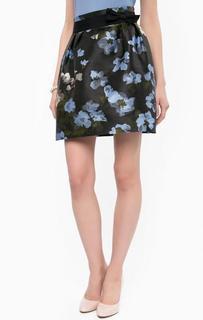Юбка средней длины с цветочным принтом Kocca